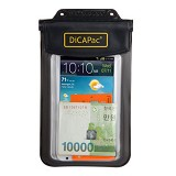 DICAPAC Waterproof Bag [WP-565] - Black (C) - Plastik Handphone / Waterproof